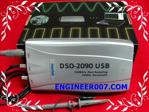 Review PC Oscilloscope DSO2090