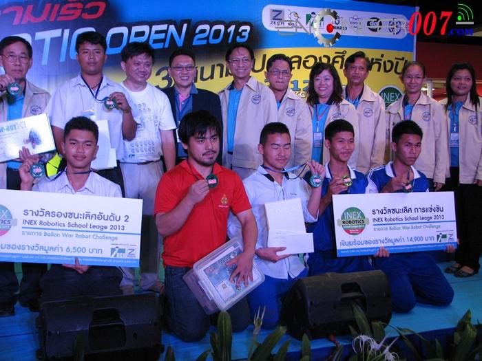 เก็บตกบบรรยากาศการแข่งขันหุ่นยนต์ TTRC Robotic Thailand Champianship 2013