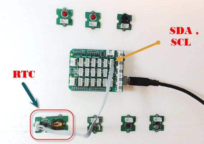 ทดสอบการเขียนโปรแกรม Arduino UNO R3 ติดต่อไอซีฐานเวลา Real Time Clock DS1307