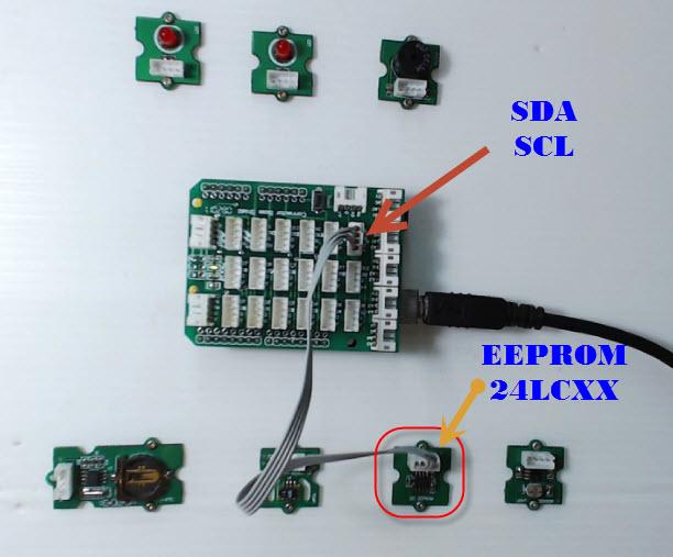 ทดสอบการเขียนโปรแกรม Arduino UNO R3 ติดต่อ EEPROM 24LCXX